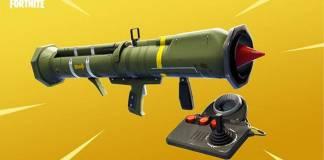 Fortnite - Comment monter sur le missile guidé