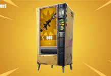 Fortnite - ditributeurs automatiques disponibles