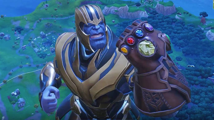 Fortnite Battle Royale - Thanos déjà nerfé