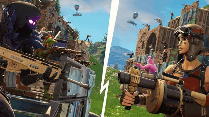 Fortnite - Retour du mode 50 vs 50 V2
