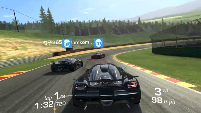 meilleurs jeux Android gratuits à télécharger - Real Racing 3