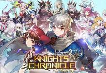 Le RPG Knights Chronicle disponible sur Google Play et dans l'App Store