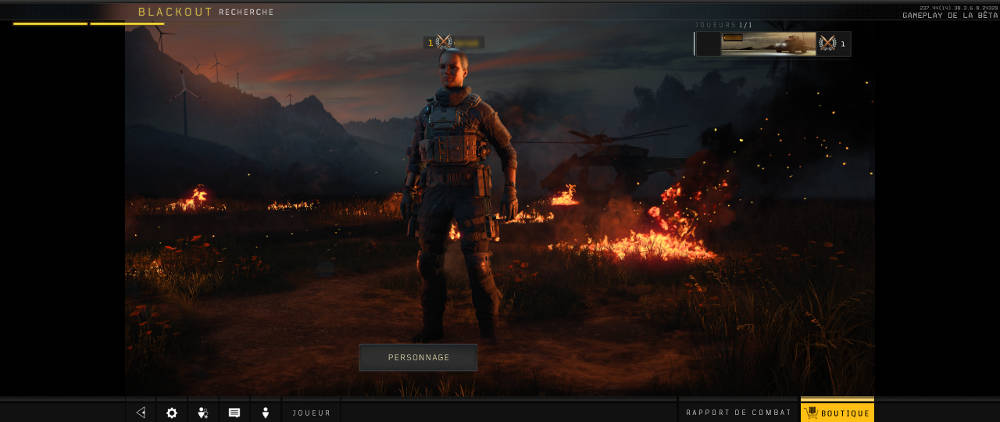 Call of Duty Black Ops 4 - perso