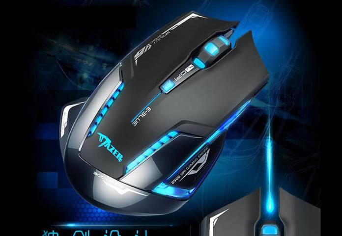 E-Blue Mazer II - Souris sans fil - les meilleures souris sans fil gamer - Guide 2018