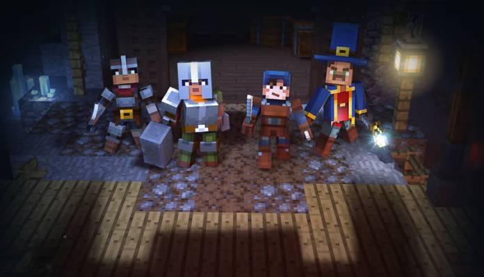 Minecraft Dungeons - en equipe de 4