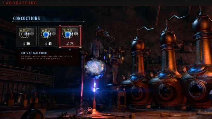 Black Ops 4 Zombies Elixirs laboratoire