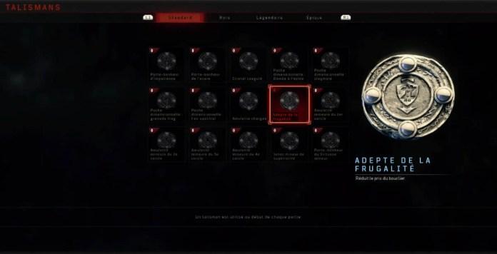 Black Ops 4 Zombies Talisman
