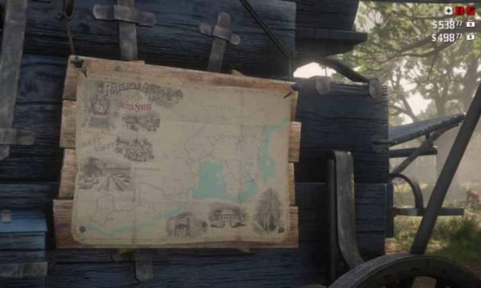 Red Dead Redemption 2 Campement - jauges