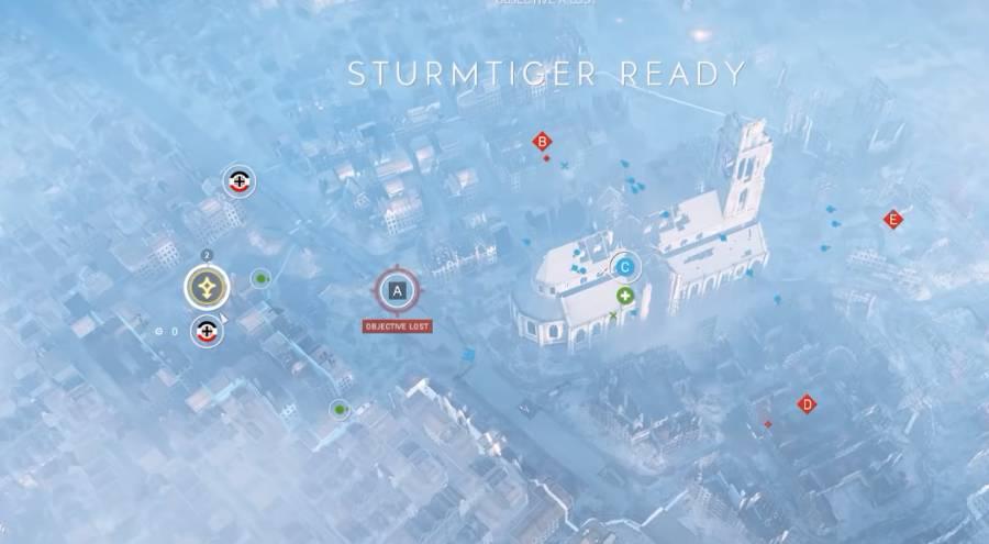 Battlefield 5Renfort escouade - Char et autochenille apparaissent au point de réapparition