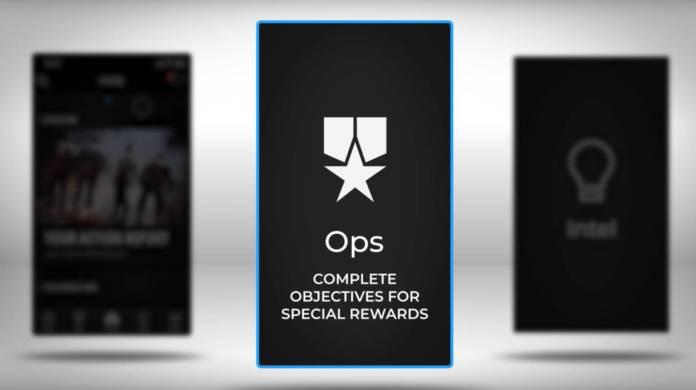 Black Ops 4 Companion App - objectifs de groupe