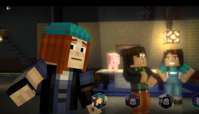 Netflix - Regardez dès maintenant Minecraft, une histoire interactive - Histoire 3