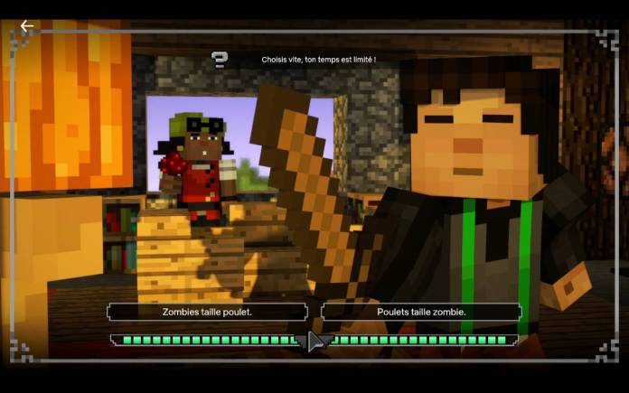 Netflix - Regardez dès maintenant Minecraft, une histoire interactive - Histoire 4