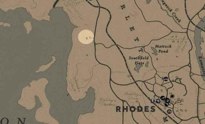RDR2 - Receleur chevaux - clemens point