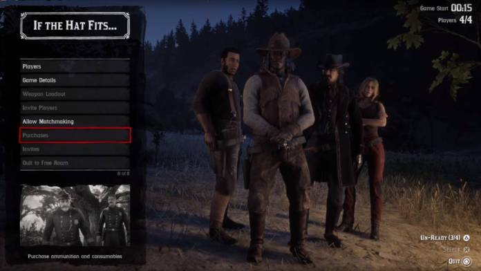 Red Dead Online Modes de Jeu