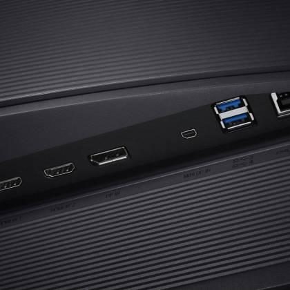 Connectiques Samsung U32H850 - meilleurs écrans PC 4K