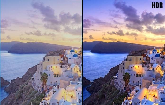 HDR améliore la qualité d'image