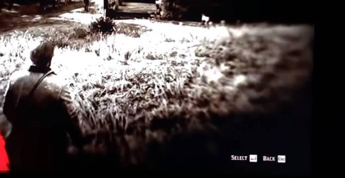 Red Dead Redemption 2 PC - Une vidéo fuite - Select et Back touche PC