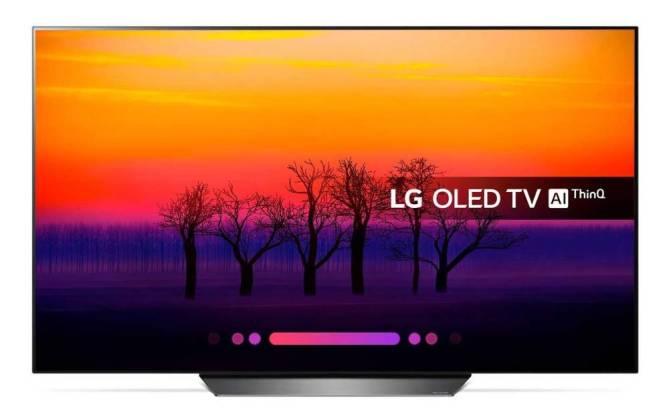face LG -OLED55B8 - Meilleures TV Gamer 4K