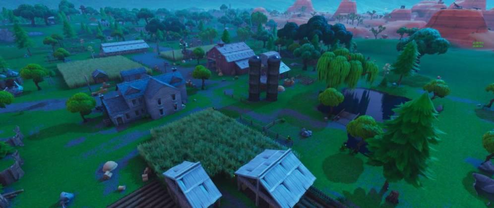 1 - Vue sur Fatal Fields