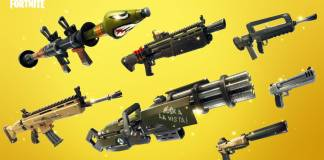 Fortnite Rareté des armes et de l'équipement, les couleurs