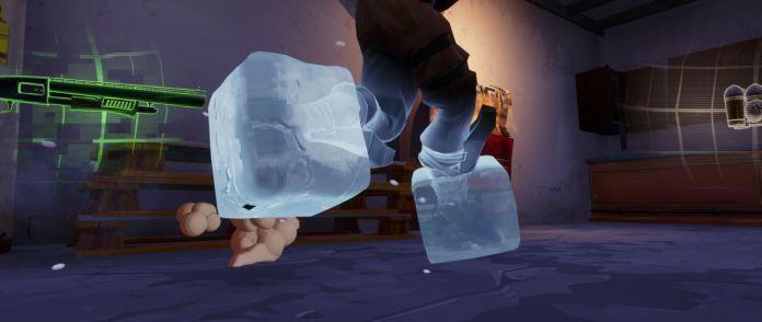 pieds geles -grenade gelante Fortnite