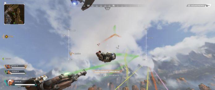 chute libre - apex legends