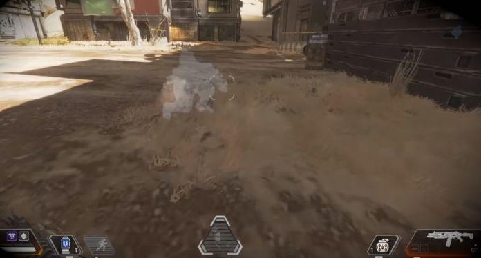 example de camouflage - Passive Prolongation - Compétences Mirage Apex Legends