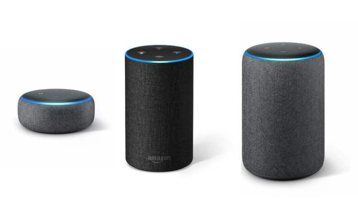 Alexa - tous les modèles Amazon Echo