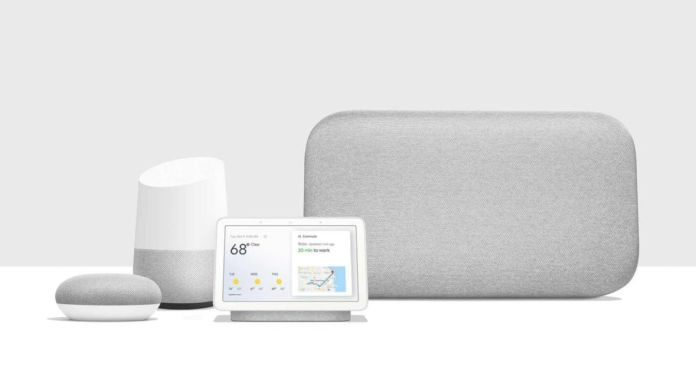 Google Home - tous les modèles