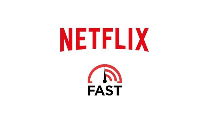 Logo Netflix et Fast.com
