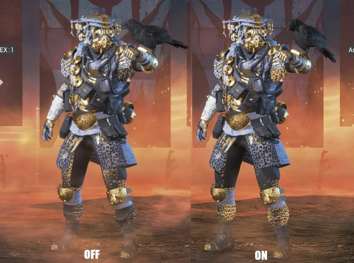 Sharpening Nvidia - FreeStyle Affiner - exemple sur Apex Legends