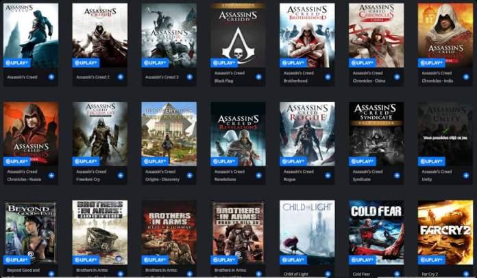 UPlay+ : Jouez gratuitement aux jeux Ubisoft jusqu'à fin septembre !