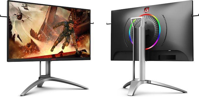 AOC AGON AG273QX - écran 27 VA, WQHD, 165 Hz, FreeSync 2, HDR