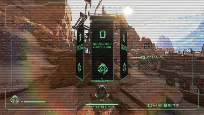 Apex Legends - Crypto - banniere indique le nombre d'ennemis à proximité