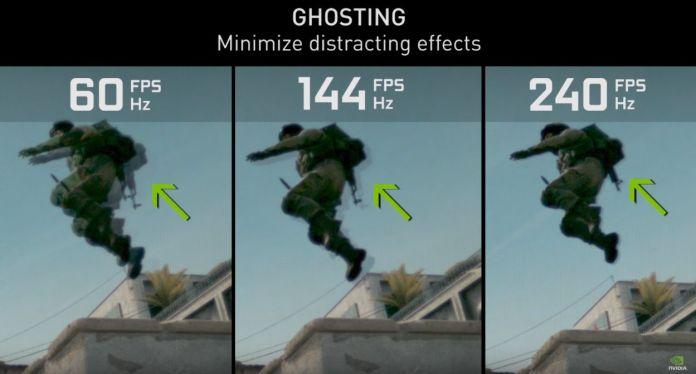 Interet du 144 Hz - réduire l'effet de ghosting