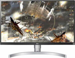 LG 27UL650-W - meilleur écran 4K
