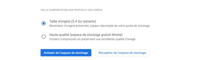 nettoyer votre espace de stockage pour éviter le modèle Gmail payant