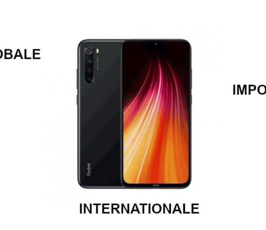 Redmi Note 8 - version globale, internationale ou import Chine