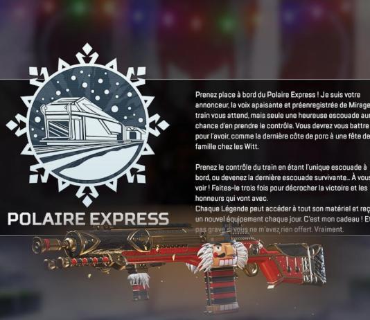 Apex Legends - Double XP avec Polaire Express - un boost pour monter