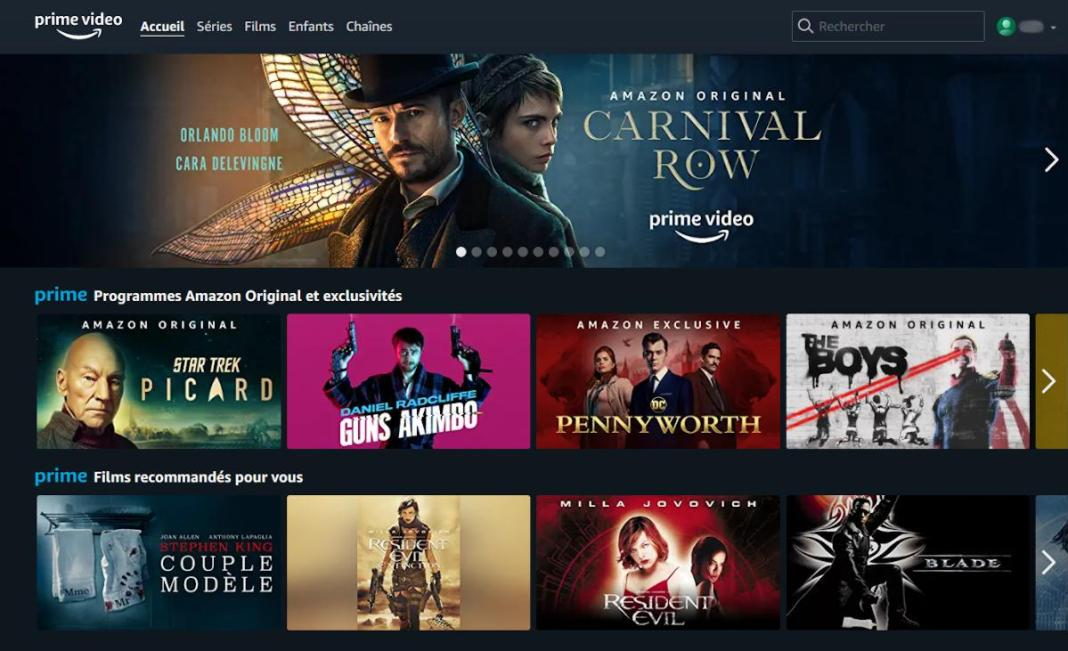 Comment créer un profil Prime Video