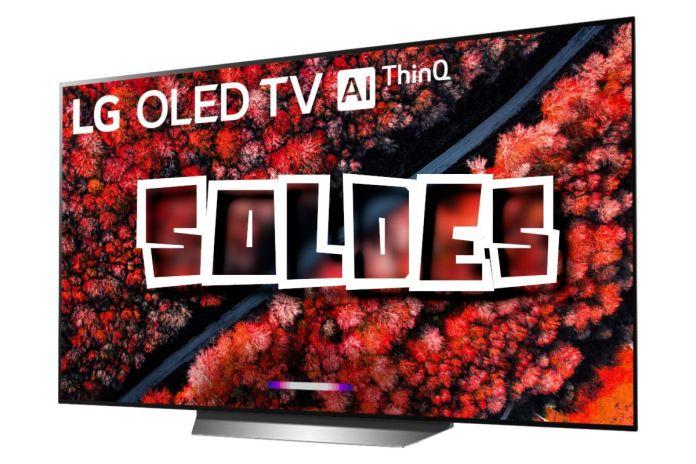 TV LG 55″ OLED 120 Hz à saisir ! Solde Télévision