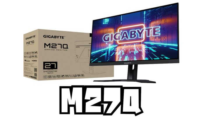 Gigabyte M27Q : 170Hz IPS WQHD