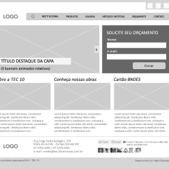 Website Wireframe Diagram Example Lutron Maestro Wiring E Layout Tec 10 Metadesign