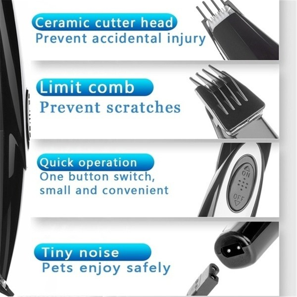 Rechargeable Pet Cat Dog Foot USB Electric Hair Trimmer