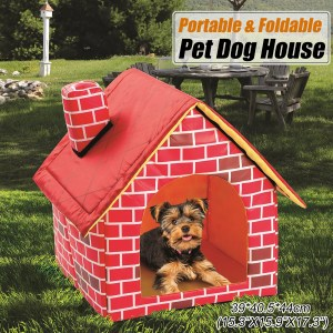 Foldable Pet House. Portable Kennel and Dog Bed Ideal For Travel