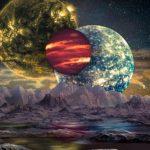 o planeta cu trei sori