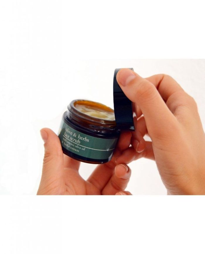 Olive & Herbs Face Scrub