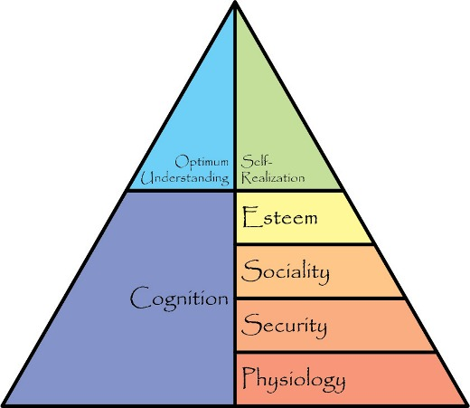 primary and secondary needs and wants pyramid