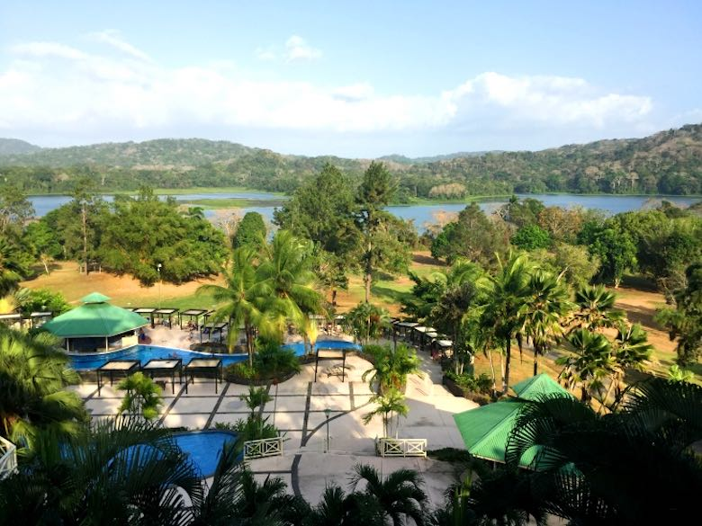 A view over the Gamboa Rainforest Retreats's outdoor area