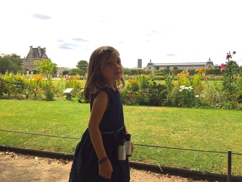 Exploring the Tuileries Gardens is a perfect way to make a kid love Paris